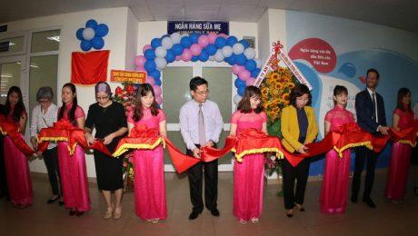 Khai trương Ngân hàng Sữa mẹ đầu tiên tại Việt Nam