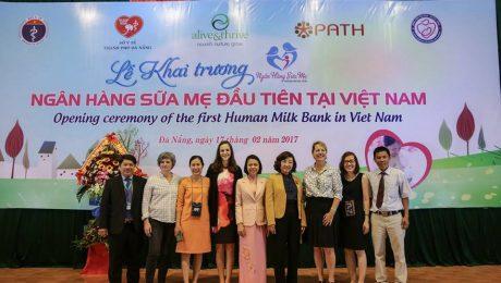 Toàn cảnh buổi khai trương Ngân hàng Sữa mẹ tại Đà Nẵng