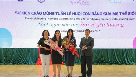 """Sự kiện """"Ngọt ngào sữa mẹ, San sẻ yêu thương"""" được tổ chức tại Ngân hàng Sữa mẹ Đà Nẵng"""
